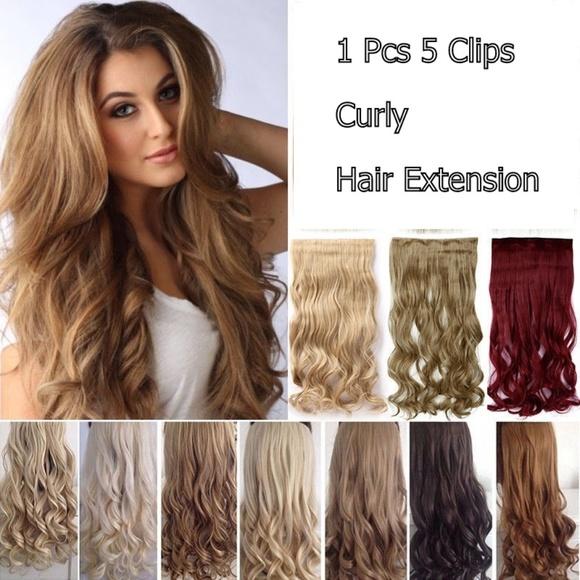 Accessories Wave Curly Hair Extensions 27 27 Dark Blonde Poshmark